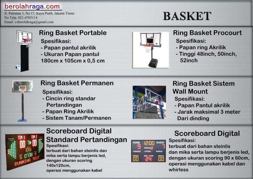 081289854040 | Toko Ring Basket di Jakarta