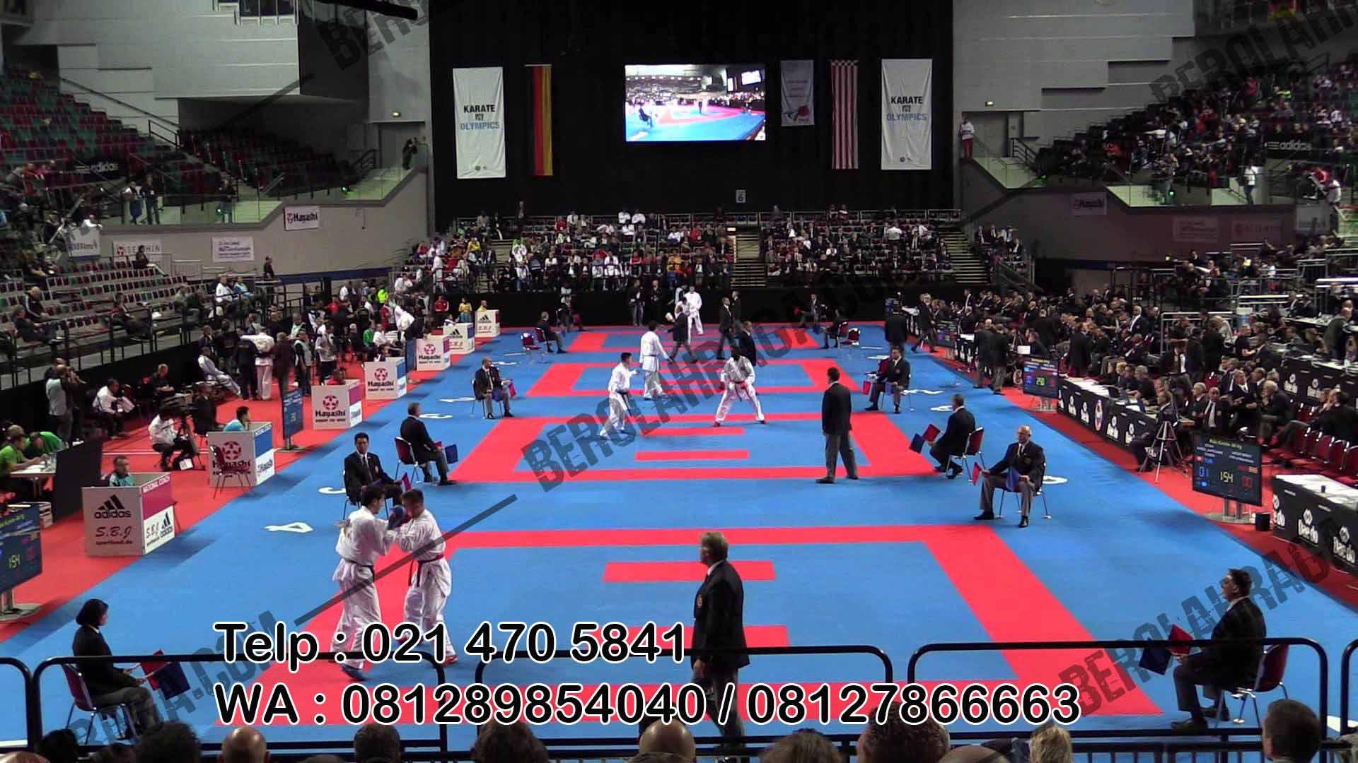 Matras Karate Harga grosir di Jakarta, Kualitas standard kompetisi, shipping ke seleruh wilayah Indonesia, harga paling murah grossir
