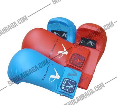 Jual hand protector karate arawaza, maestro, adidas, WKF, hokido
