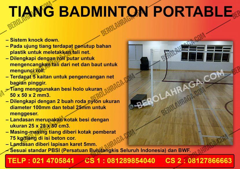 Tiang Badminton Murah Di Kalimantan Selatan, Produsen, Agen Perlengkapan Olahraga, beladiri, distributor, supplier, pusat, importir