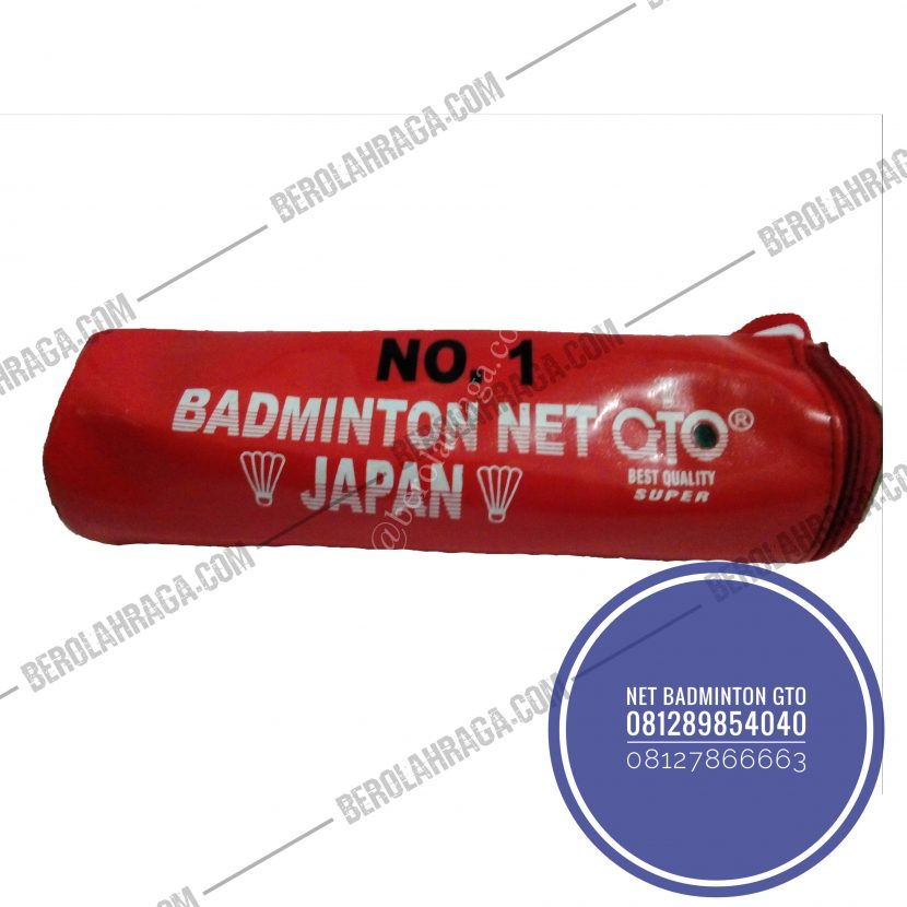 Net Badminton GTO Murah di Jakarta, Alat Olahraga grosir, Distributor Alat Olahraga, Supplier Alat Olahraga, Jual alat olahraga retail