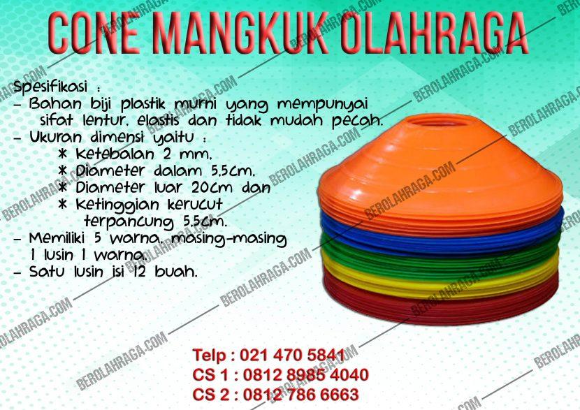 Cone Mangkuk Olahraga 5cm | 08127866663