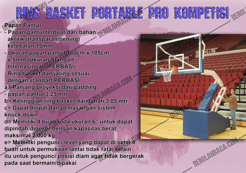 Produsen Ring Basket Standard Kompetisi Murah
